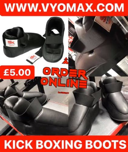 Karate/Kick Boxing Boots (One Size)